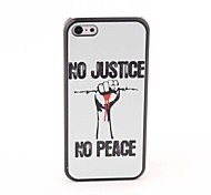 Justice Style Protective Back Case for iPhone 5C