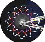 PC programável personalizados wireless luzes da roda da bicicleta mensagem CHT-0311b