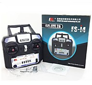 2014 New Version FS FlySky FS-i4 2.4G 4ch Transmitter and Receiver System LCD Screen