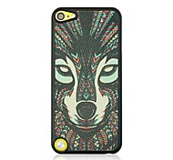 The wolf Leather Vein Pattern Hard Case for iPod touch 5
