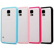 Candy Color Frosted Back Case for Samsung Galaxy S5 I9600 (Assorted Color)