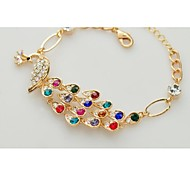 Love Is You The Peacock Fashion Elegant Colorful Peacocks Bracelet