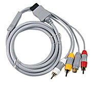 cable cable s-video rca av de audio y vídeo para Nintendo Wii