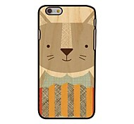 Catoon Cat Style Plastic Hard Back Cover for iPhone 6