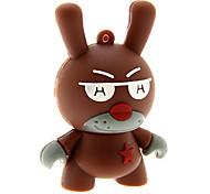ZP36 32GB Cartoon Cool Rabbit USB 2.0 Flash Drive