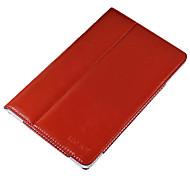 PU-Leder Schutz hart Ganzkörper-Fall für Vido m10 rot mit Displayschutzfolie