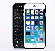 Black Hard cover with Slide-out Wireless Bluetooth Keyboard for iPhone 6
