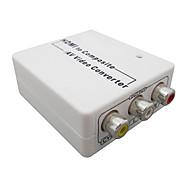 Mini HDMI Female to AV(CVBS) Female Video Converters Support 720P 1080I 1080P