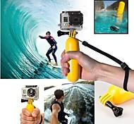 gopro amarelo pega flutuante com parafuso para GoPro Hero 1/2/3