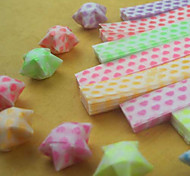Luminous Star Origami Materials(27 Pieces/Bag)