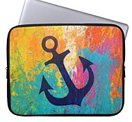 "Elonbo Beautiful Anchor 15"" Laptop Neoprene Protective Sleeve Case for Macbook Pro Retina Dell HP Acer"