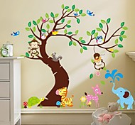 ZOOYOO® Removable monkey on the tree Wall Stickers Hot Selling Wall Decals For Home Decor
