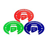 NFC Tags Stickers Set Fully Compatible for All NFC Enabled Phone Ntag203 144 Bytes (3 PCS)