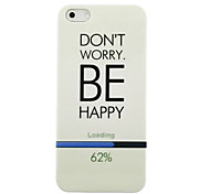 Progress Bar Pattern Hard Case for iPhone4/4S