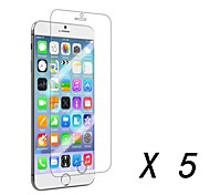 Clear Screen Protector Film for iPhone 6 (5 pcs)