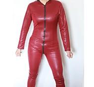 Delle Spiderwoman donne di colore del PVC della biancheria uniforme sexy