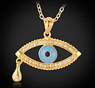 u7® ange chanceux p1186 pendentif larme de l'oeil