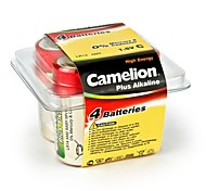 Camelion Plus Alkaline C Size Battery in Plastic Box of 4 PCS