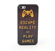 Play Games Style Protective Back Case for iPhone 5C