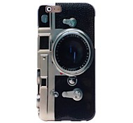 Retro Camera Pattern TPU Soft Case for iPhone 6/6S