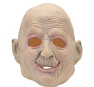 SYVIO High-grade Latex Old Man Head Halloween Slip-on Mask
