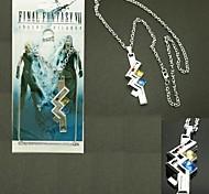 Bijoux Inspiré par Final Fantasy Lightning Anime/Jeux Vidéo Accessoires de Cosplay Colliers Argenté Alliage Masculin / Féminin
