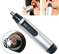 Electric Nose Ear Facial Hair Trimmer Cleaner Shaver Clipper High Security(Powered by 1 AA Battery)
