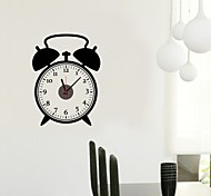 ZOOYOO® Vintage and classic Style Electronic battery wall clock shape wall sticker home decor for you room
