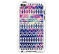 Luminous Wove Leather Vein Pattern PC Hard Case for iPod touch 4