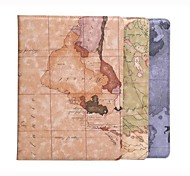 The World Map Flip Case Cover with Stand for Samsung Galaxy  TAB S 10.5 T800