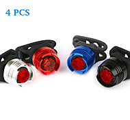 4PCS Aluminum Alloy Waterproof Cycling Warning Light