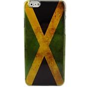 Vintage Jamaica Flag Plastic Hard Back Cover for iPhone 6