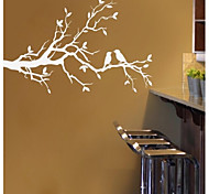 JiuBai™ Tree Branch And Lover Birds Wall Sticker Wall Decal