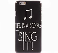 Sing It Design Hard Case for iPhone 6 Plus