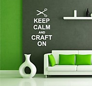 JiuBai® Keep Calm Quote Wall Sticker Wall Decal