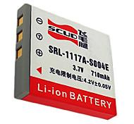 scud S004E batería / cámara NP40 para pansonic dmc-fx7 / fx2 DMW-BCB7