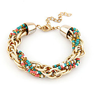 MISSING U Alloy Bracelet Chain & Link Bracelets / Cuff Bracelets Daily / Casual 1pc