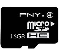 PNY 16GB Clase 4 MicroSD/MicroSDHC/MicroSDXC/TFMax Read Speed14MB/S (MB/S)Max Write Speed4MB/S (MB/S)