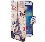 Coway The Tower Label Printing Cloth Mobile Phone Holster Case  for Samsung S4 i9500