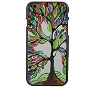 Multicolour Tree Design Pattern Hard Cover for iPhone 6