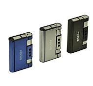 Mini Portable 2-in-1 Aluminum Alloy Automatic Ejection Cigarette Case Lighter Toys(Random Color)