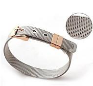 Herrenmode Persönlichkeit Titan Stahl Gitterband Form lange Armbänder