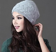женская мода личности теплый высшего сорта двухэтажный кролика волосы шляпой