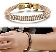 Retro Hand-woven Rope Men Bracelets