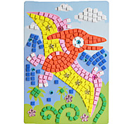 EVA Mosaic Crystal 3D Stickers Children Hand DIY Puzzle Pterosaur Toy