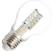 E26/E27 LED Globe Bulbs A60(A19) 81 COB 400 lm Warm White Dimmable / Decorative AC 220-240 V