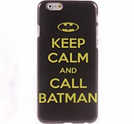 Keep Calm And Call Batman Design Hard Case for iPhone 6