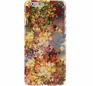Yellow leaf Design Hard Case for iPhone 6 Plus