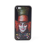 Clown Style Protective Back Case for iPhone 5C