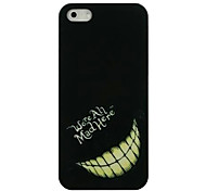 Caso duro Mad Smile Face Pattern for iPhone 4/4S